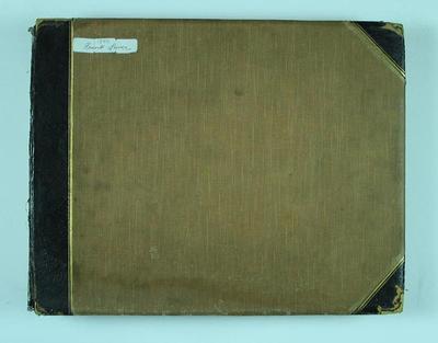 Frank Laver's photograph album, Australian cricket tour to England - 1899