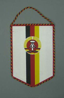 Wall hanging, German National Olympic Committee c1990
