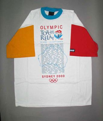 T-shirt, Sydney 2000 Olympic Games Torch Relay