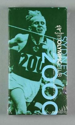 VHS Video Cassette - 'The Official Club of the Sydney 2000 Olympic Games', No.8; Audio-Visual; 1998.3425.27