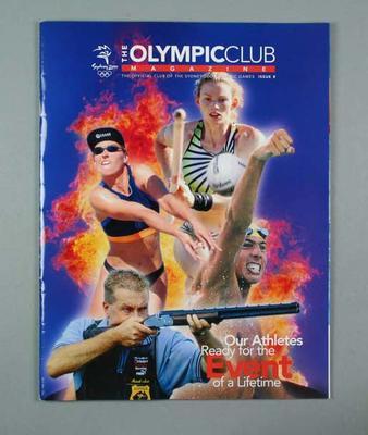 Magazine - The Olympic Club Magazine, Issue No. 8