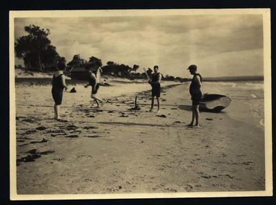 Photograph from Frank Laver's photograph album, family and friends - circa 1913