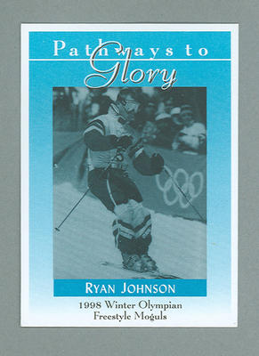 Pathways to Glory Ryan Johnson trade card