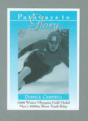 Pathways to Glory Derrick Campbell trade card