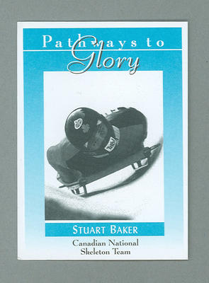 Pathways to Glory Stuart Baker team trade card