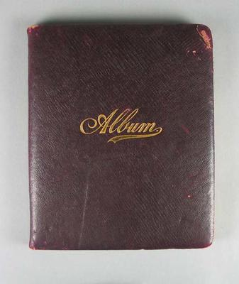Autograph book which belonged to Frank Laver c. 1905