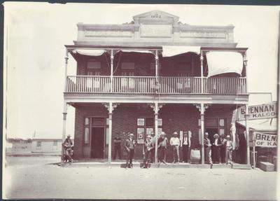Photograph from Frank Laver's photograph album, travel scenes c1912