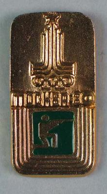 Badge, 1980 Olympic Games - Shotgun Shooting