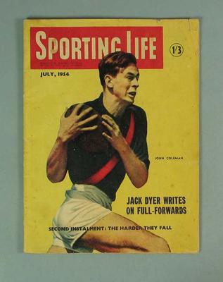 "Magazine, ""Sporting Life"" July 1954"