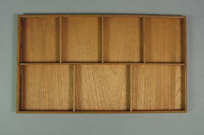 Removable tray from the wooden Drinks Cabinet - Frank Laver Collection