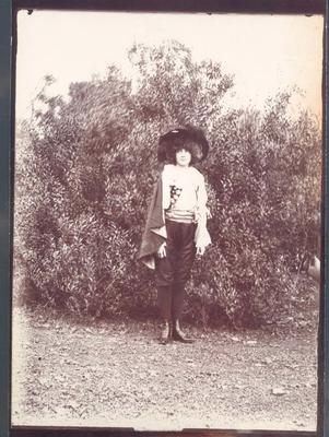 Photograph from Frank Laver's photograph album, friends and family c1912