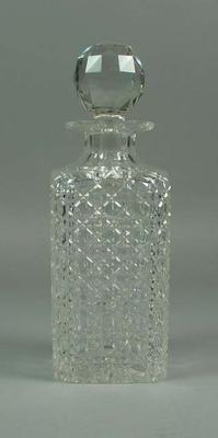 Decanter &  knob stopper from the drinks cabinet - Frank Laver Collection