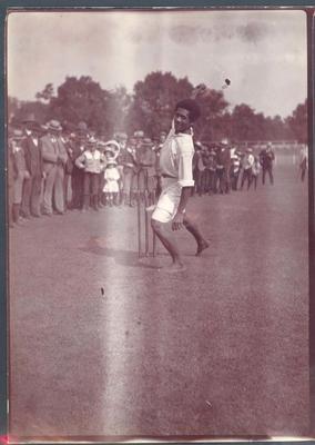 Photograph from Frank Laver's photograph album, Australian cricket tour 1905