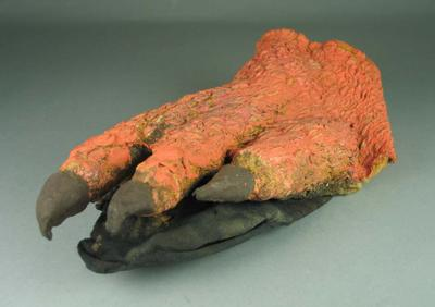 Foot, costume worn during Sydney 2000 Olympic Games Closing Ceremony