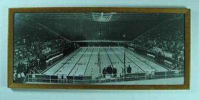 Photograph of Victorian State Swimming Centre, c1960s