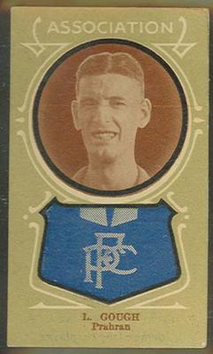 Trade card featuring Lew Gough c1930s