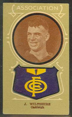 Trade card featuring Joseph Wiltshire c1930s