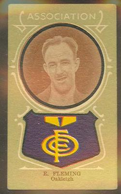 Trade card featuring Eric Fleming c1930s