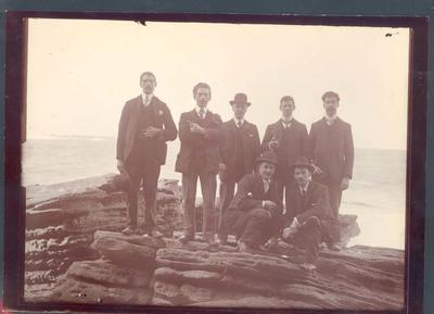 Photograph from Frank Laver's photograph album, friends and family c1905