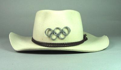 Marching band hat, used at Sydney 2000 Olympic Games ceremonies