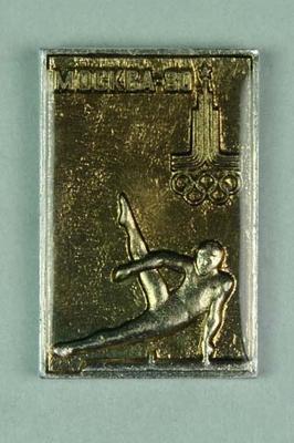 Badge, 1980 Olympic Games - Pommel Horse