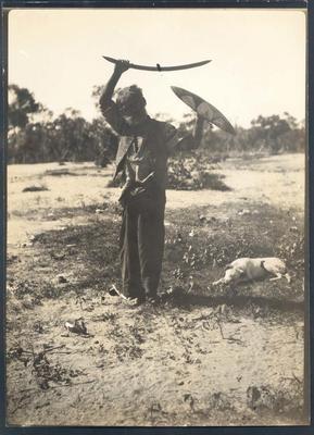 Photograph from Frank Laver's photograph album, circa 1918