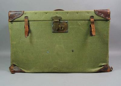 Trunk, used by Lola Morris (nee Scott)