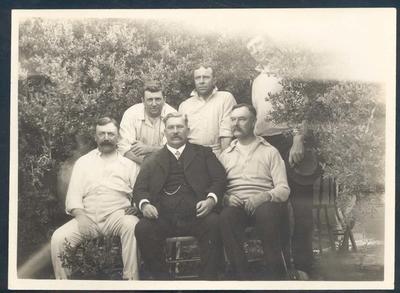 Photograph from Frank Laver's photograph album, circa 1910