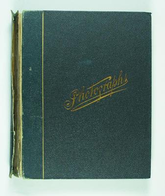 Frank Laver's photograph album, circa 1905-18