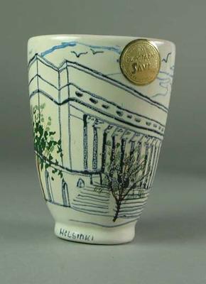 Vase, 1952 Helsinki Olympic Games design