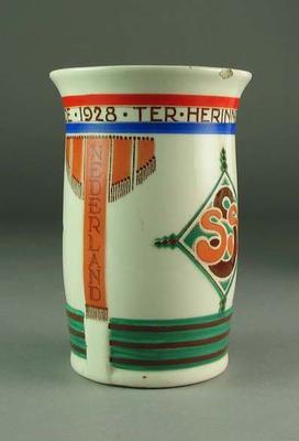 Vase, 1928 Amsterdam Olympic Games design