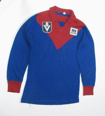 Melbourne FC guernsey, worn by Brian Wilson
