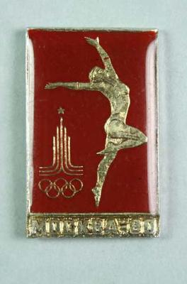 Badge, 1980 Olympic Games - Gymnastics