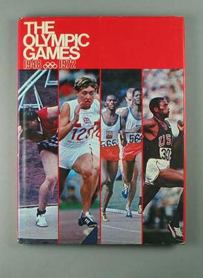 """Book, """"The Olympic Games 1948 - 1972"""""""