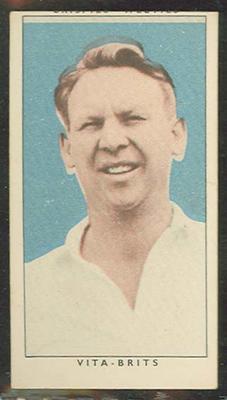 1948 Weeties Crispies Vita-Brits Leading Cricketers series Doug Ring trade card