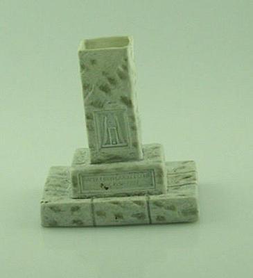 Spill vase, Hambledon Cricket Club stone