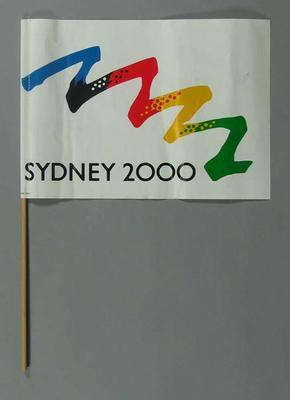 Small flag, Sydney 2000 Olympic Games bid