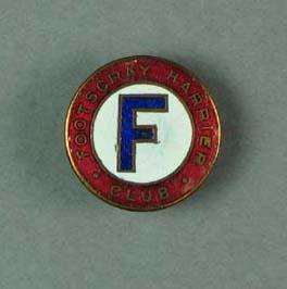 Lapel pin, Footscray Harrier Club c1930s-40s