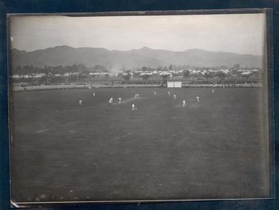 Photograph from Frank Laver's photograph album, Australian cricketers en route to England - 1905