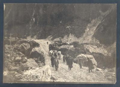 Photograph from Frank Laver's photograph album, Australian cricket tour to New Zealand - 1914