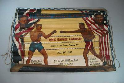 Banner - Harry Johns' On Parade - Joe Louis and Tommy Farr 1937