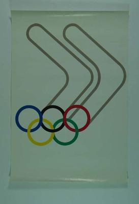 Poster, 1984 Los Angeles Olympic Games