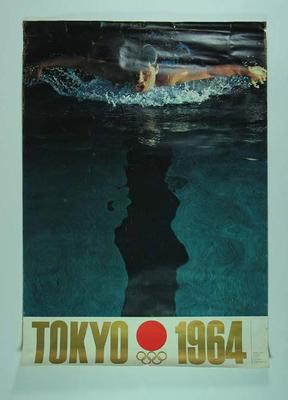 Poster, 1964 Tokyo Olympic Games - Swimming