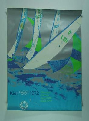 Poster, 1972 Munich Olympic Games - sailing