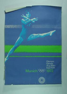 Poster, 1972 Munich Olympic Games - gymnastics