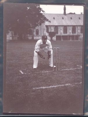 Photograph from Frank Laver's photograph album, William Carkeek - Australian cricket team tour of England 1909