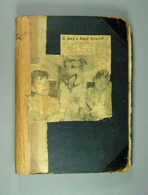 Scrapbook, contains clippings associated with life & career of Dave McNamara; Documents and books; 1992.2660.21