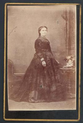 Photograph from Frank Laver's photograph album, Mary Ann Laver