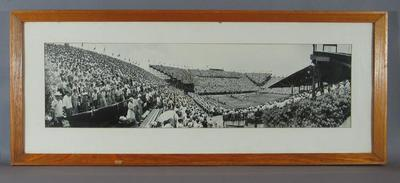 Panoramic Photograph - David Cup 1954, Australia v USA - White, City Sydney; Photography; Framed; 1991.2431