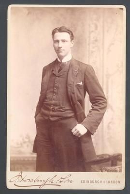 Photograph from Frank Laver's photograph album, Charles Laver